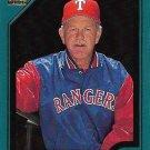 Johnny Oates 2001 Topps #343 Texas Rangers Baseball Card