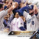 Mike Moustakas 2016 Topps #410 Kansas City Royals Baseball Card