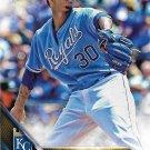 Yordano Ventura 2016 Topps #296 Kansas City Royals Baseball Card