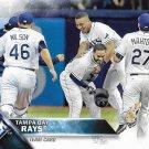 Tampa Bay Rays 2016 Topps #537 Baseball Team Card