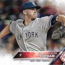 Caleb Cotham 2016 Topps #530 New York Yankees Baseball Card