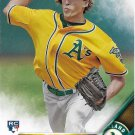 Ryan Dull 2016 Topps Rookie #574 Oakland Athletics Baseball Card