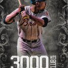 Hank Aaron 2016 Topps 3,000 Hits Club #3000H-3 Atlanta Braves Baseball Card