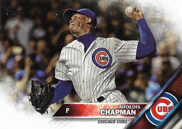 Aroldis Chapman 2016 Topps Update #US145 Chicago Cubs Baseball Card