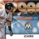 Ichiro Suzuki 2016 Topps Chasing 3K #3000-50 Miami Marlins Baseball Card