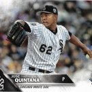 Jose Quintana 2016 Topps Update #US241 Chicago White Sox Baseball Card
