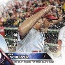 Max Scherzer 2016 Topps Update #US169 Washington Nationals Baseball Card