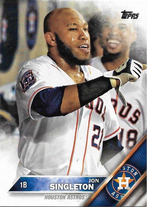Jon Singleton 2016 Topps #392 Houston Astros Baseball Card