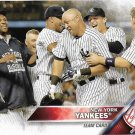 New York Yankees 2016 Topps #155 Baseball Team Card