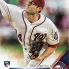 Lucas Giolito 2016 Topps Update Rookie Debut #US213 Washington Nationals Baseball Card