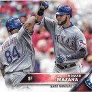 Nomar Mazara 2016 Topps Update Rookie #US158 Texas Rangers Baseball Card