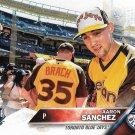 Aaron Sanchez 2016 Topps Update #US227 Toronto Blue Jays Baseball Card