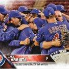 Jake Arrieta 2016 Topps Update #US62 Chicago Cubs Baseball Card