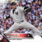 Dellin Betances 2016 Topps Update #US291 New York Yankees Baseball Card