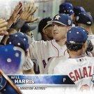 Will Harris 2016 Topps Update #US282 Houston Astros Baseball Card