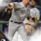 Corey Knebel 2016 Topps #517 Milwaukee Brewers Baseball Card