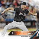 Chris Reed 2016 Topps Rookie #631 Miami Marlins Baseball Card