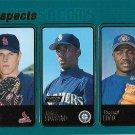 Chance Caple-Rafael Soriano-Pascual Coco 2001 Topps Rookie #370 Baseball Card
