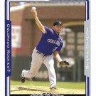 Shawn Chacon 2005 Topps #159 Colorado Rockies Baseball Card