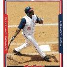 Matt Lawton 2005 Topps #58 Cleveland Indians Baseball Card