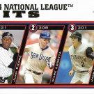 Juan Pierre-Mark Loretta-Jack Wilson 2005 Topps #344 Baseball Card