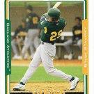 Brian Stavisky 2005 Topps #323 Oakland Athletics Baseball Card