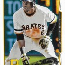 Starling Marte 2014 Topps #91 Pittsburgh Pirates Baseball Card