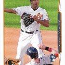 Jonathan Schoop 2014 Topps Rookie #83 Baltimore Orioles Baseball Card