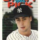 Brian Buchanan 1995 Topps Rookie #28 New York Yankees Baseball Card