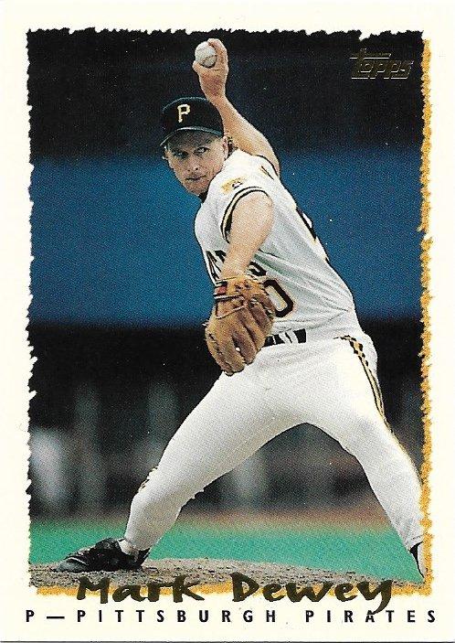 Mark Dewey 1995 Topps #378 Pittsburgh Pirates Baseball Card