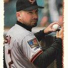 Chris Sabo 1995 Topps #137 Baltimore Orioles Baseball Card