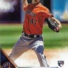 Chris Devenski 2016 Topps Update Rookie #US70 Houston Astros Baseball Card