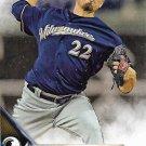 Matt Garza 2016 Topps #228 Milwaukee Brewers Baseball Card