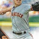 Jake Peavy 2016 Topps #320 San Francisco Giants Baseball Card