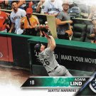 Adam Lind 2016 Topps Update #US94 Seattle Mariners Baseball Card