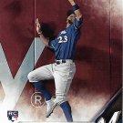 Keon Broxton 2016 Topps Update Rookie #US108 Milwaukee Brewers Baseball Card