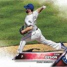 Sam Dyson 2016 Topps Update #US248 Texas Rangers Baseball Card