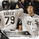 Todd Frazier 2016 Topps Update #US183 Chicago White Sox Baseball Card