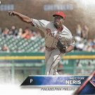 Hector Nerris 2016 Topps Update #US95 Philadelphia Phillies Baseball Card