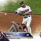 Eduardo Nunez 2016 Topps Update #US31 Minnesota Twins Baseball Card
