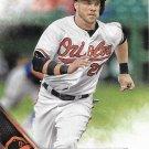 Steve Pearce 2016 Topps Update #US51 Baltimore Orioles Baseball Card