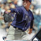 Blake Snell 2016 Topps Update Rookie Debut #US40 Tampa Bay Rays Baseball Card