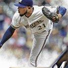 Jeremy Jeffress 2016 Topps #544 Milwaukee Brewers Baseball Card