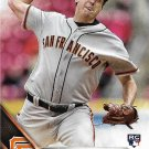 Derek Law 2016 Topps Update Rookie #US72 San Francisco Giants Baseball Card