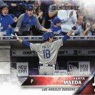 Kenta Maeda 2016 Topps Update Rookie Debut #US285 Los Angeles Dodgers Baseball Card