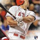Scott Schebler 2016 Topps Update Rookie #US73 Cincinnati Reds Baseball Card