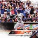 Neil Walker 2016 Topps Update #US22 New York Mets Baseball Card