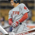 Mookie Betts 2017 Topps #242 Boston Red Sox Baseball Card