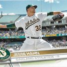 Jesse Hahn 2017 Topps #140 Oakland Athletics Baseball Card