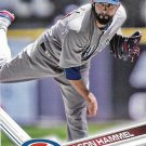 Jason Hammel 2017 Topps #2 Chicago Cubs Baseball Card